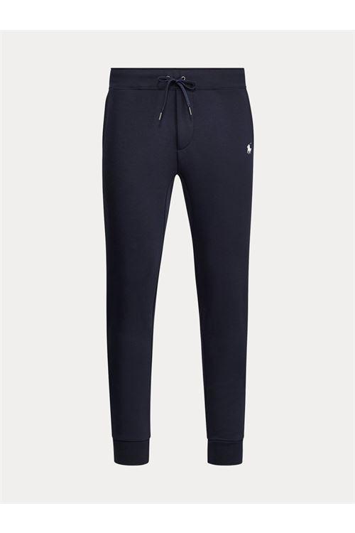 Jogger a maglia doppia RALPH LAUREN | Pantalone | 710-652314002