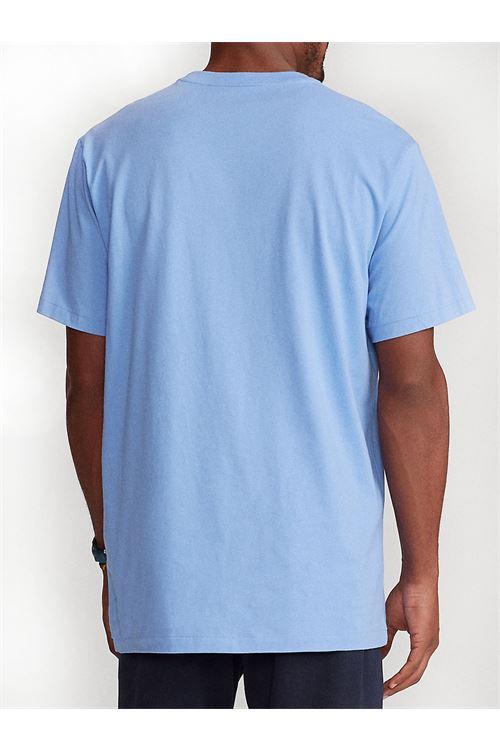 T-shirt girocollo custom slim fit RALPH LAUREN   T-shirt   710-671438057