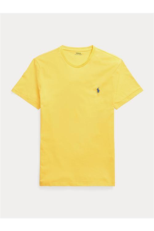 T-shirt girocollo custom slim fit RALPH LAUREN | T-shirt | 710-671438209