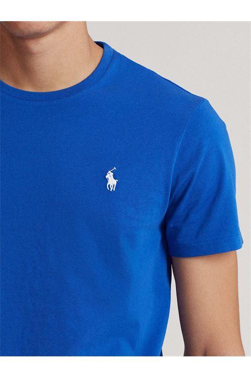 T-shirt girocollo custom slim fit RALPH LAUREN | T-shirt | 710-671438210