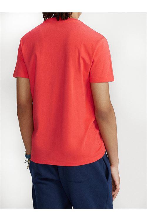 T-shirt girocollo custom slim fit RALPH LAUREN | T-shirt | 710-671438213