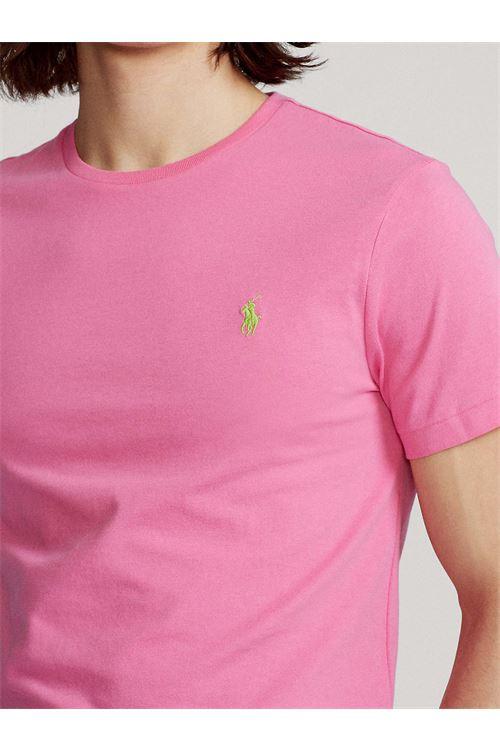 T-shirt girocollo custom slim fit RALPH LAUREN | T-shirt | 710-671438219