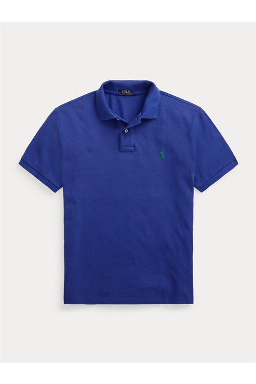 Polo in piqué Custom Slim-Fit RALPH LAUREN | Polo | 710-680784215
