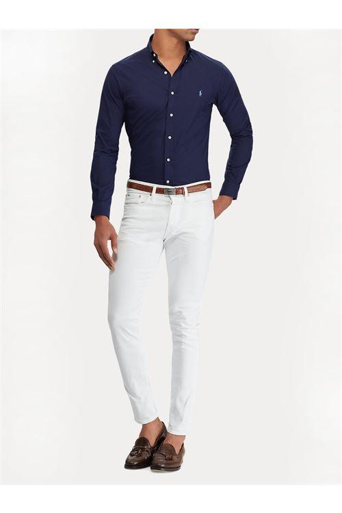 Camicia slim fit in cotone RALPH LAUREN | Camicia | 710-705269006