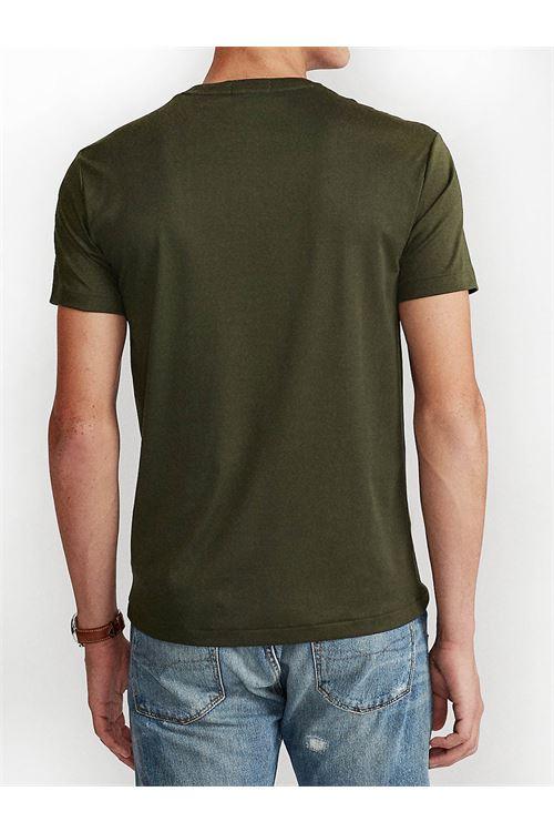 T-shirt in morbido cotone con vestibilità slim RALPH LAUREN | T-shirt | 710-740727021