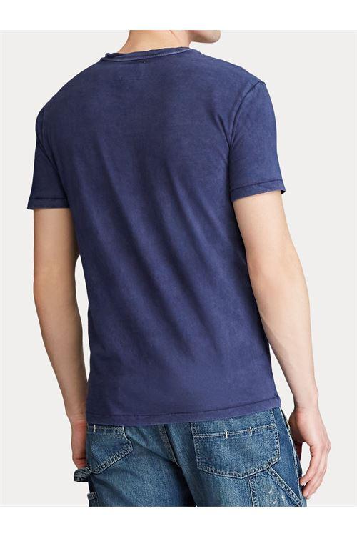T-shirt con tasca in jersey slim fit RALPH LAUREN | T-shirt | 710-795137003