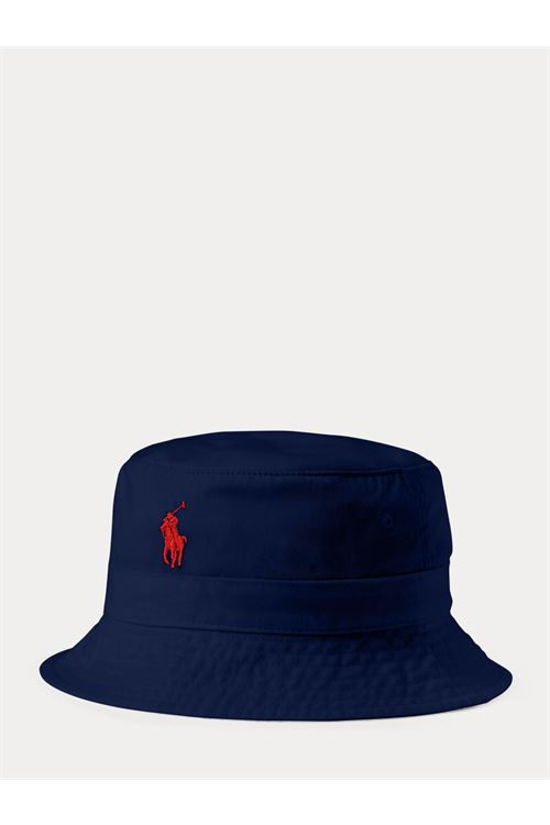 Cappellino bob in cotone RALPH LAUREN | Cappello | 710-798567005
