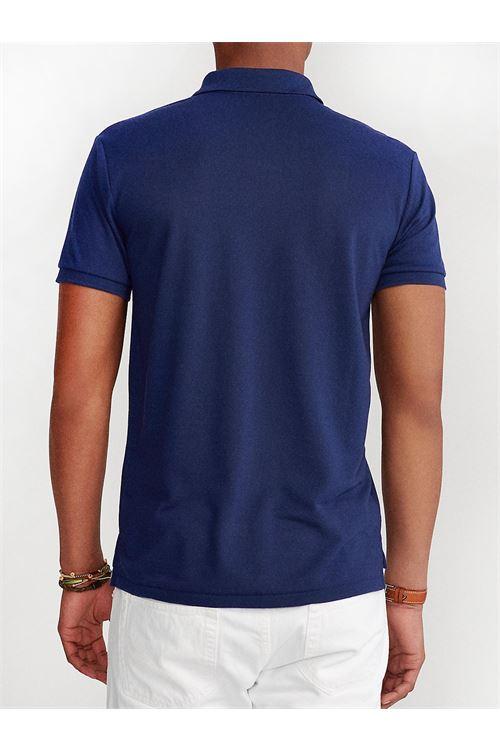 Polo in piqué con stemma Custom Slim-Fit RALPH LAUREN | Polo | 710-804077001