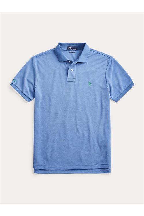 Polo in piqué con stemma Custom Slim-Fit RALPH LAUREN | Polo | 710-804077027
