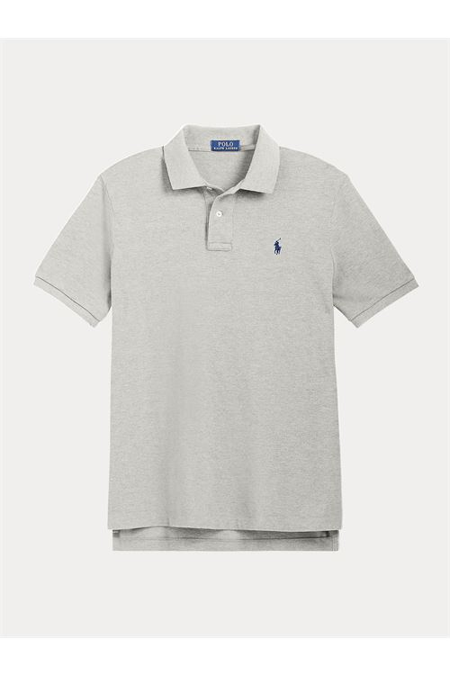 Polo in piqué con stemma Custom Slim-Fit RALPH LAUREN | Polo | 710-814416003