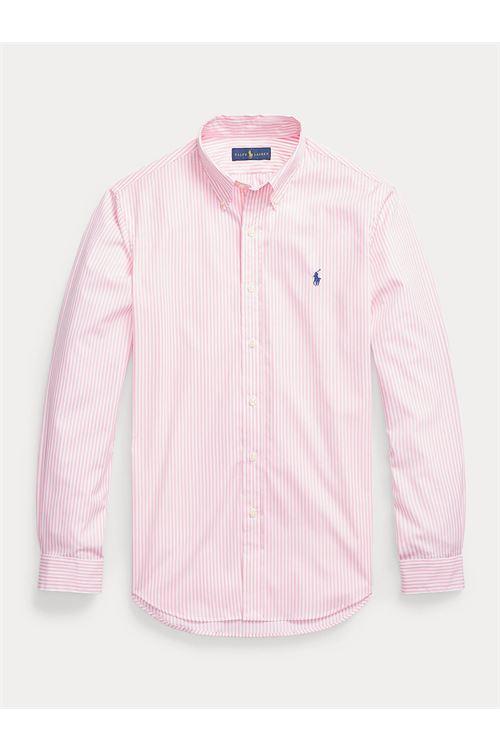 Camicia in cotone a righe Slim-Fit RALPH LAUREN | Camicia | 710-818196005