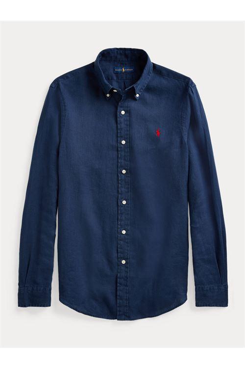 Camicia in lino RALPH LAUREN | Camicia | 710-829443001