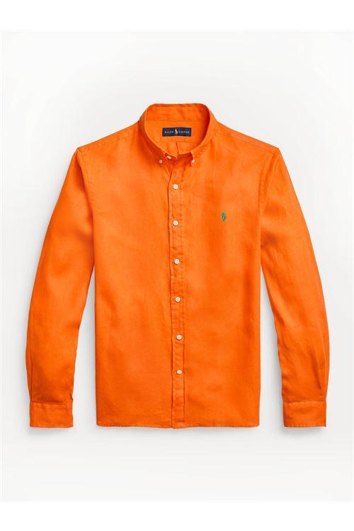 Camicia in lino Slim-Fit RALPH LAUREN | Camicia | 710-829447003