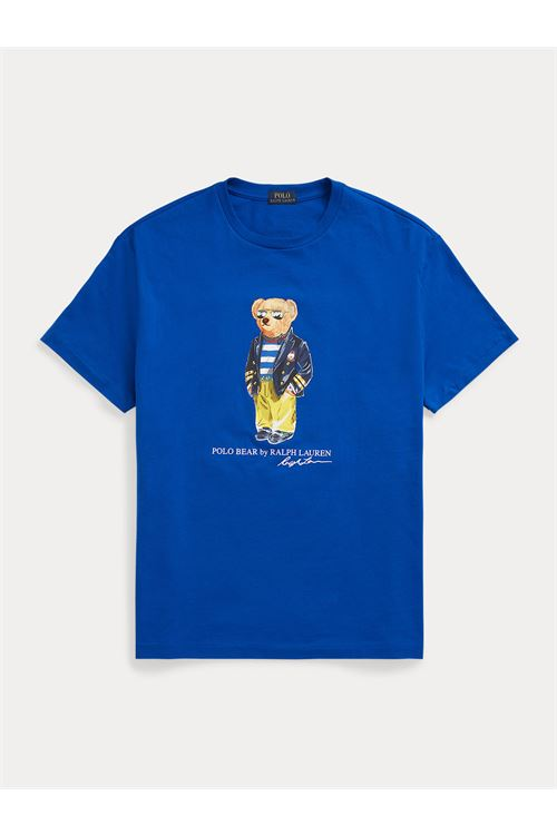 T-shirt Marina Polo Bear in jersey RALPH LAUREN | T-shirt | 710-837306001