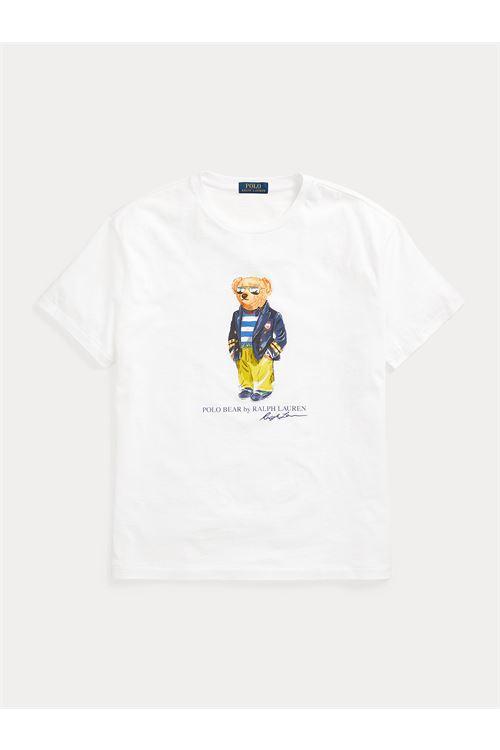 T-shirt Marina Polo Bear in jersey RALPH LAUREN | T-shirt | 710-837306002
