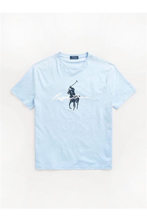 T-shirt Big Pony Custom Slim-Fit RALPH LAUREN | T-shirt | 710-839050003