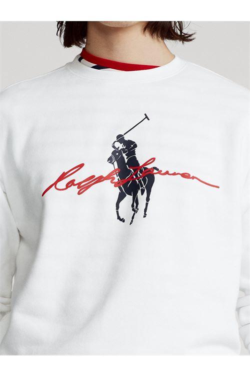 Felpa con logo Big Pony RALPH LAUREN | Felpa | 710-839054001