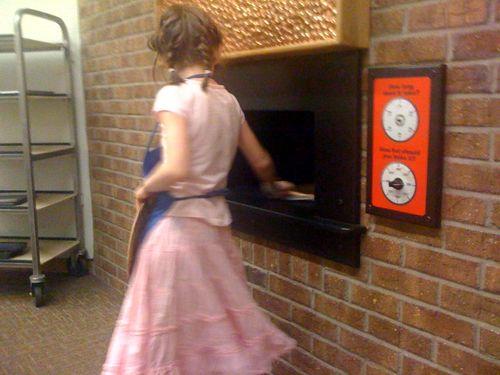 Baking at strong