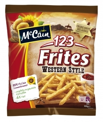 McCain 123 Frites Western Style