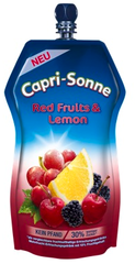 Die große Capri-Sonne Red Fruits & Lemon