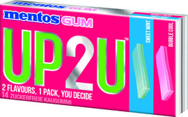 Mentos UP2U Sweet Mint / Bubble Cool