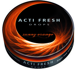 Acti Fresh Drops Sunny Orange