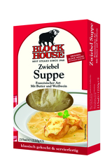 Block House frische Suppen Zwiebel Suppe
