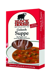 Block House frische Suppen Gulasch Suppe