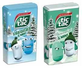 tic tac Intense Mint & Mint und Spearmint & Mint