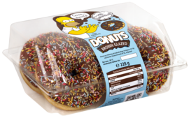 The Simpsons™ Donuts Brown Glazed