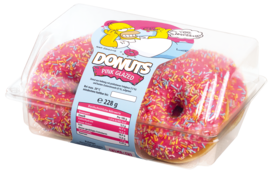The Simpsons™ Donuts Pink Glazed