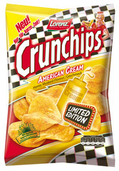 Lorenz Crunchips Limited Edition: American Cream