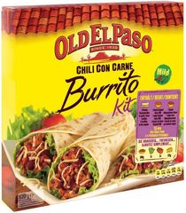 Old El Paso Chili con Carne Burrito Kit