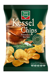 funny-frisch Kessel Chips: Rosemary & Sea Salt