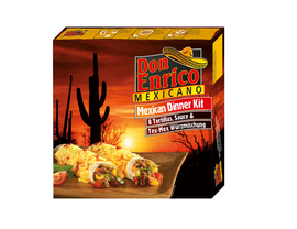 Don Enrico Mexican Dinner Kit
