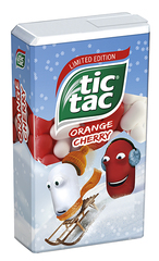 tic tac Orange Cherry