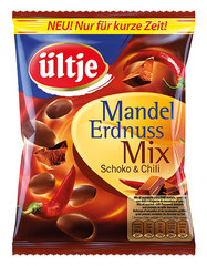 üljte Mandel Erdnuss Mix Schoko Chili