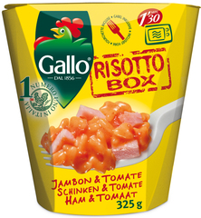 Riso Gallo Risotto Box Schinken & Tomate