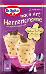 Dr.Oetker nach Art Herrencreme