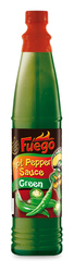 Fuego Hot Pepper Sauce Green