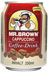 MR. BROWN Cappuccino Coffee-Drink