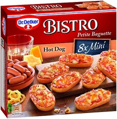 Dr. Oetker Bistro Mini Baguettes Hot Dog