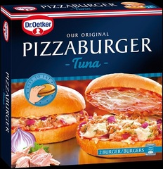 "Dr. Oetker Pizzaburger ""Tuna"""