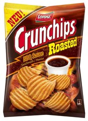 "Lorenz Snack-World Crunchips Roasted ""BBQ Sauce"""