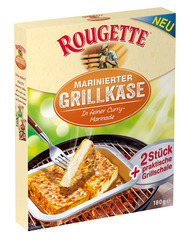 "Rougette Marinierter Grillkäse ""Curry"""