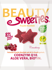 "BeautySweeties Frucht-Konfekt ""Cranberry"""