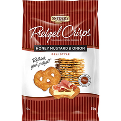 Snyder's of Hanover Pretzel Crisps Honey Mustard & Onion