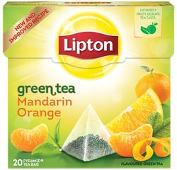 "Lipton Green Tea ""Mandarin Orange"""