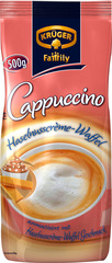 "KRÜGER Family Cappuccino ""Haselnusscrème-Waffel"""