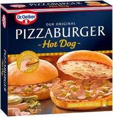 "Dr. Oetker Pizzaburger ""Hot Dog"""
